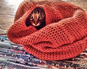 Popular items for crochet cat bed on Etsy
