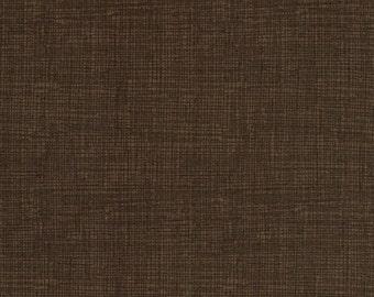 Sketch Fabric - Dark Brown - Coordinating Blender Fabric by Timeless Treasures - C8224 Coffee - 1/2 yard
