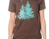 Spruce Trees Organic/ Recycled Tee mens/Unisex
