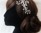 Rhinestone Bridal Hair SlideDiamante Wedding Hair CombWedding Diamante Hair SlideVintage Diamante Hair CombBridal Hair Combbridal Veil