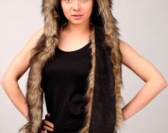 "Hat ""Bear"" mod. B, faux fur."
