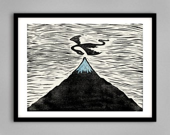 The Hobbit, The Desolation Of Smaug - Signed Limited Edition Giclee Print A4 & A3