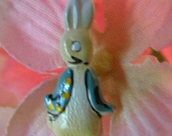 Bunnykins Enamel Necklace 1960's Just Too Cute
