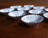 Set of 10 Vintage Tart Tins
