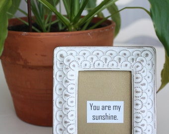 You Are My Sunshine - Framed Quote