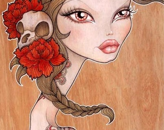 "Print of my original illustration ""Piper"""