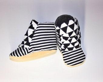Baby boots, triangle boots, soft sole baby boots