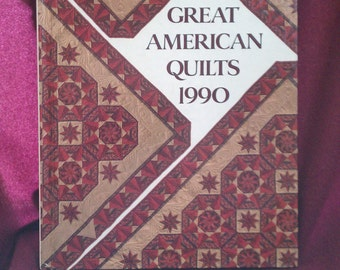 Great American Quilts 1990 Oxmoor House