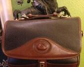 Vintage Dooney & Bourke Leather Hand Bag.......Leather HandBag.....Leather Purse