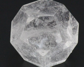 Quartz Crystal, Dodecahedron Plutonic Solid
