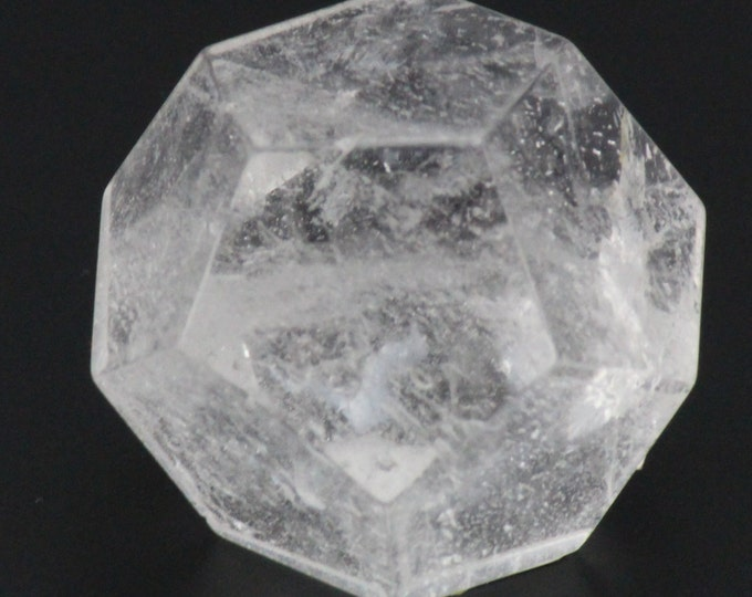 Quartz Crystal, Dodecahedron Plutonic Solid