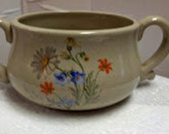 Stoneware Soup cup
