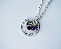 Little Mermaid Inspired Ursula Necklace. Poor Unfortunate Souls