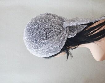 Kerchief Bandana Shawl Scarf , cotton Hair Loss Headband, Hair Accessories, summer beanie