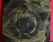 VENUS PORTAL 003 .:. Gold Dot Ceramic Tile Artwork