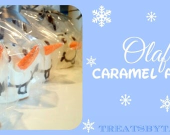 OLAF Caramel Apples