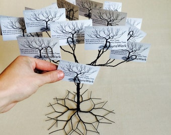 Wedding ,Wishing Tree , Business Card Holder , display stand and decor item.Modern #10