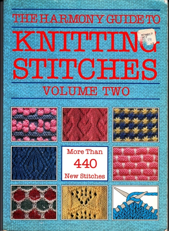 The Harmony Guide To Knitting Stitches Vol. 2 Knit Pattern