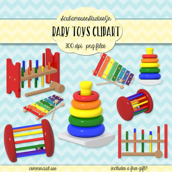 Baby Toy Commercial : Baby clipart toys dpi png file
