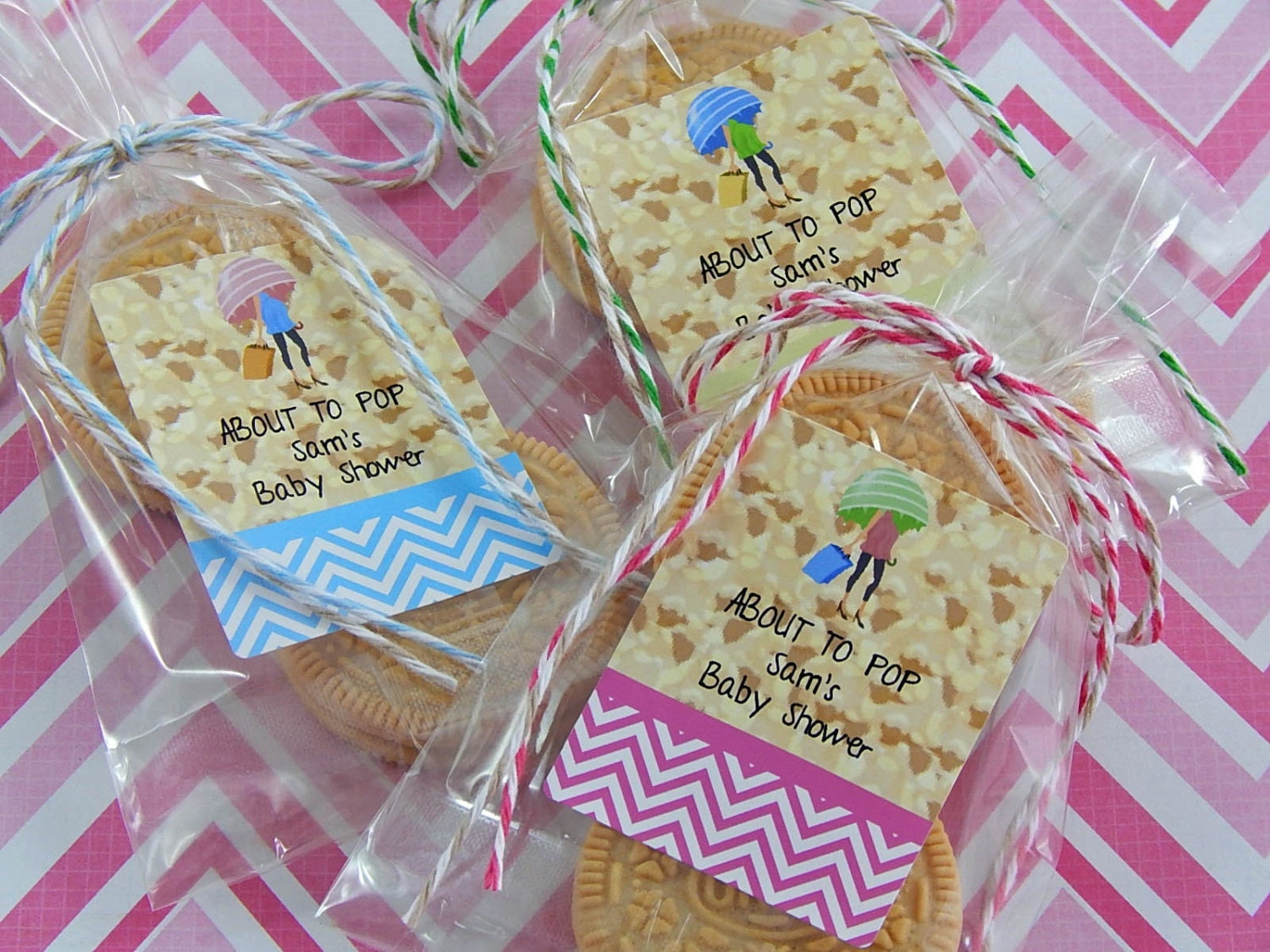 ready to pop baby shower favors about to by partyfavorsbydesign