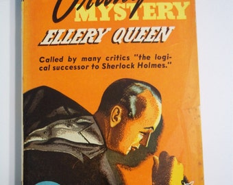 The Chinese Orange Mystery by Ellery Queen Pocket Books #17 1941 Vintage Paperback Book