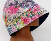 Floral Flapper rain cloche