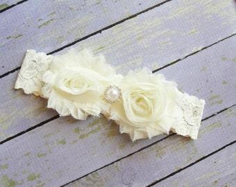 Bride Garter, Lace Wedding Garter, Pearl Garter, Keepsake, Simple Garter, Throw Garter, Leg Garter, Custom Garter