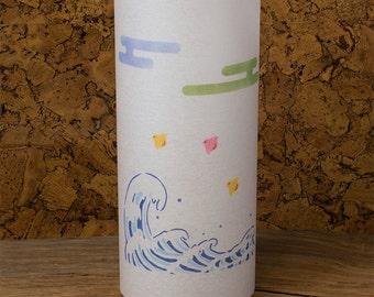 Hokusai Japanese painting lamp - Kanagawa wave Hokusai - Great Wave Kanagawa - Japanese lamp
