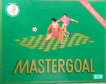 SALE ! 1992 Mastergoal Soccer Board Game Manufactured by Goalmind S.A. Made In Spain