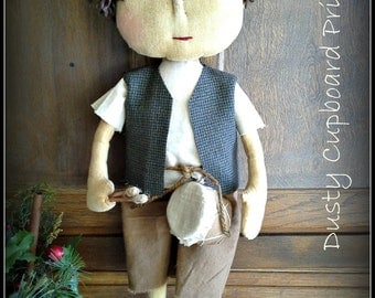 Lil' Drummer Boy ~Prim Doll~ Epattern