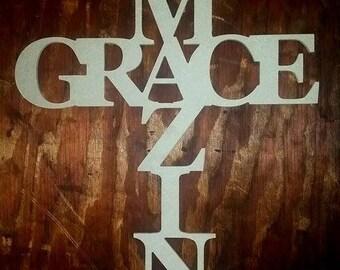 Amazing Grace Wall Decor amazing grace | etsy