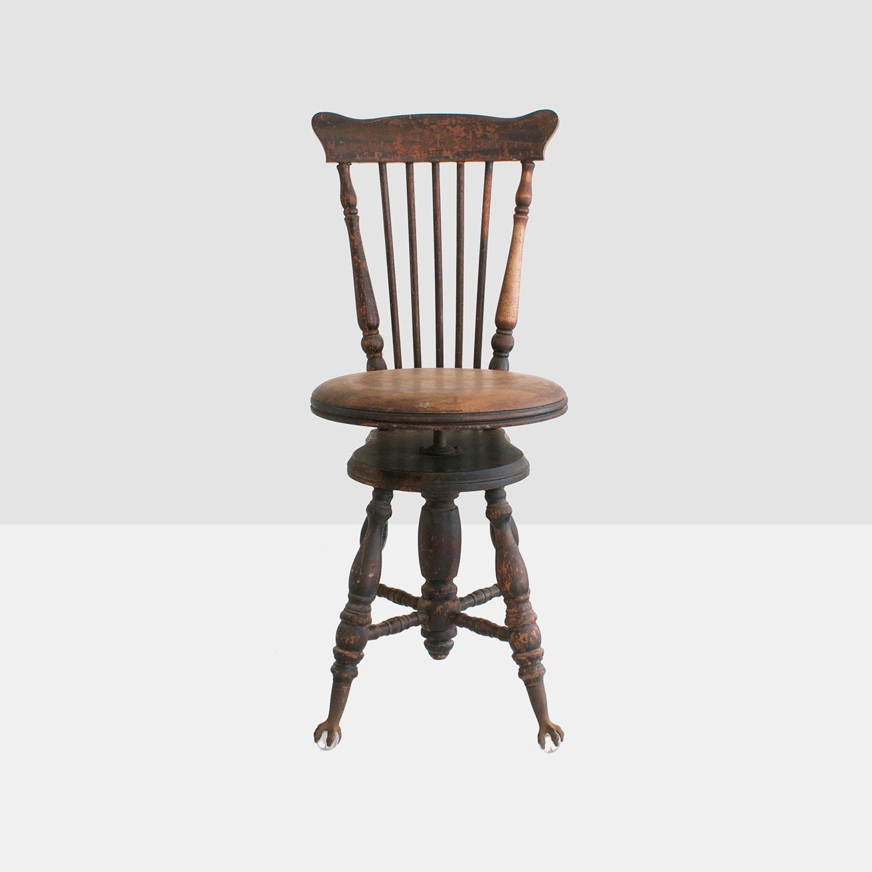 chaise piano antique chaise piano wingback par homeandhomme sur etsy. Black Bedroom Furniture Sets. Home Design Ideas