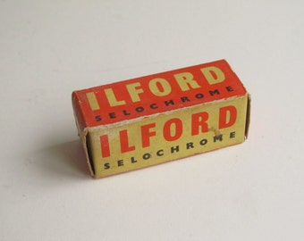1960's Ilford Selochrome SP 127 Limited Panchromatic safety film, expired march 1969, 160 ASA 23 DIN