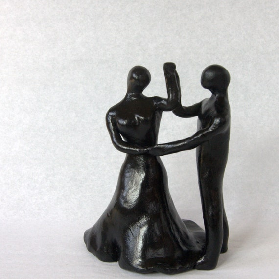 "Ballroom dancers sculpture | ""Save the Last Dance"" 