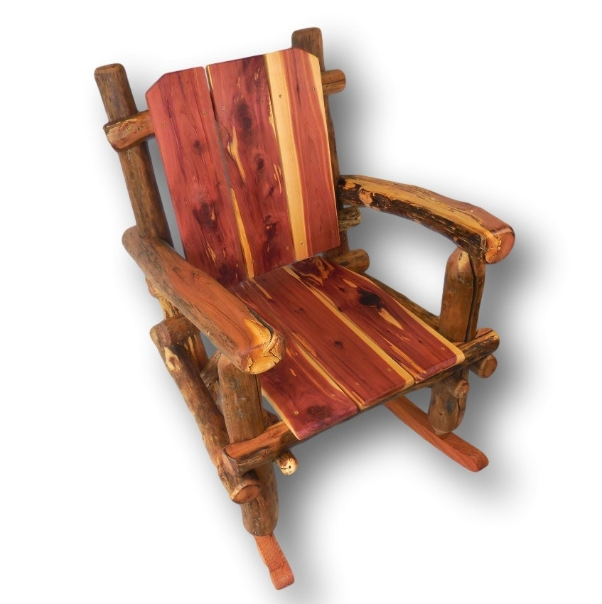 wood rocking chair rustic rocking chair patio rocker custom. Black Bedroom Furniture Sets. Home Design Ideas