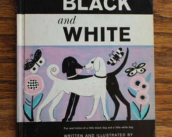1963 First Edition Hardcover of Black and White by Dahlov Ipcar