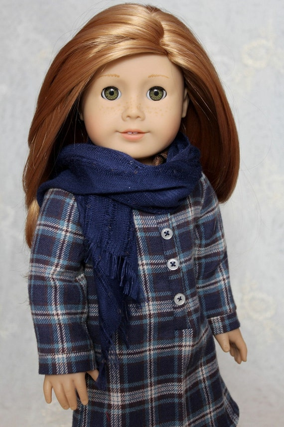 "Fringed Sparkle Scarf for American Girl or 18"" Doll"