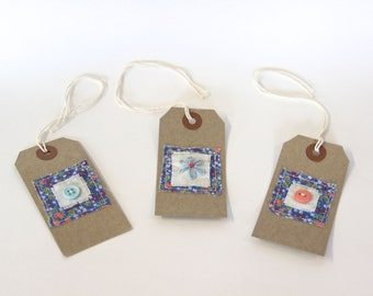 Gift Tags, Set of 3.