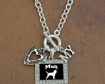 Heart My Mutt Necklace