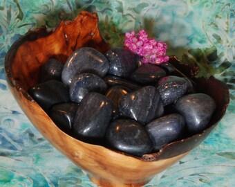 1 BLUE AVENTURINE Tumbled Stone - Blue Aventurine Crystal, Blue Aventurine Stone, Tumbled Blue Aventurine, Blue Aventurine Gemstone