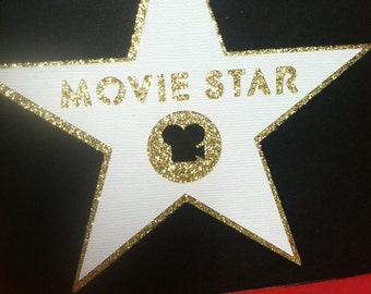 Hollywood Themed Invitation