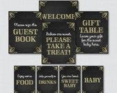 Printable Chalkboard Baby...