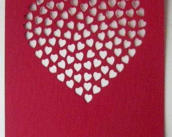 Heart of Hearts Die Cut Sheets