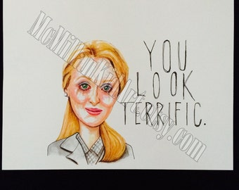 """Meryl Streep in """"Kramer vs. Kramer"""" Art Print"""