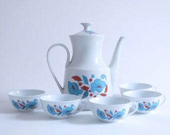 French Tea set - Porcelaine F.D. Chauvigny- 60