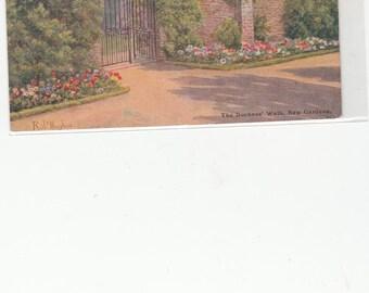 1920s Kew Gardens London The Duchess' Walk.A/S Rob Hughes Postcard
