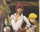 JONNY QUEST #9 Comico Comics Murphy Anderson Mark Wheatley William Messner-Loebs TV Cartoon Action Adventure