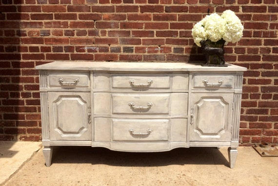 sideboard server buffet shabby chic by offthebeatentrackwh. Black Bedroom Furniture Sets. Home Design Ideas