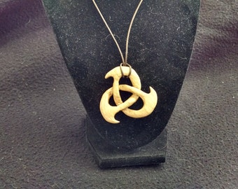 Carved Celtic Knot in Cherry