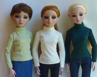 Knit Turtleneck for Ellowyne Wilde and Antoinette